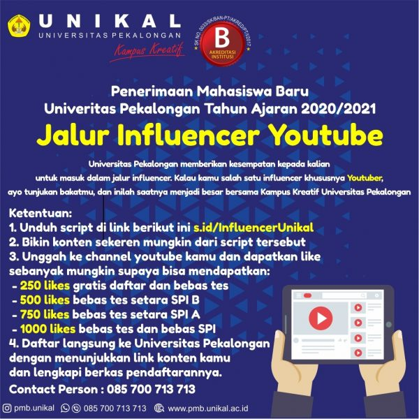 Jalur Influencer Unikal